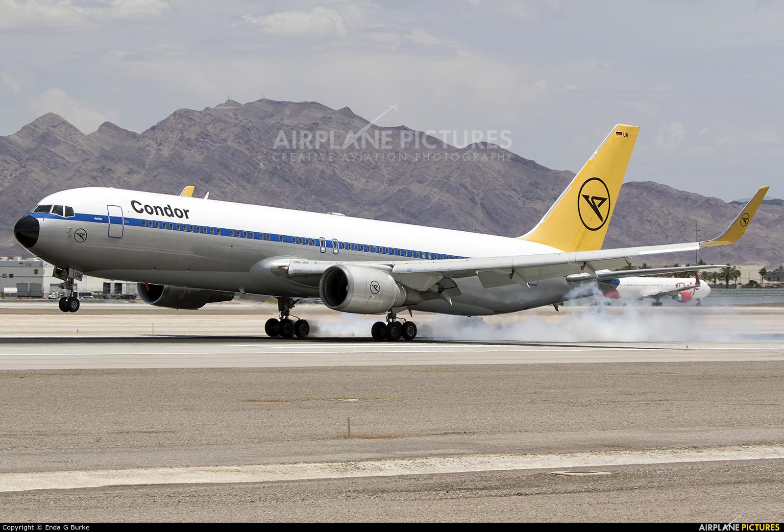 Condor D-ABUM aircraft at Las Vegas - McCarran Intl