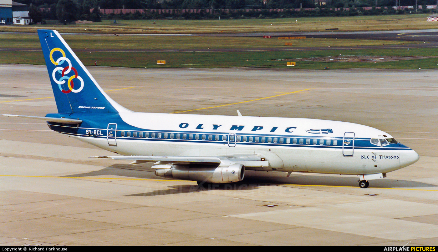 Olympic Airlines SX-BCL aircraft at Düsseldorf