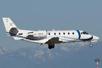 LX-SEH - Luxaviation Cessna 560XL Citation XLS