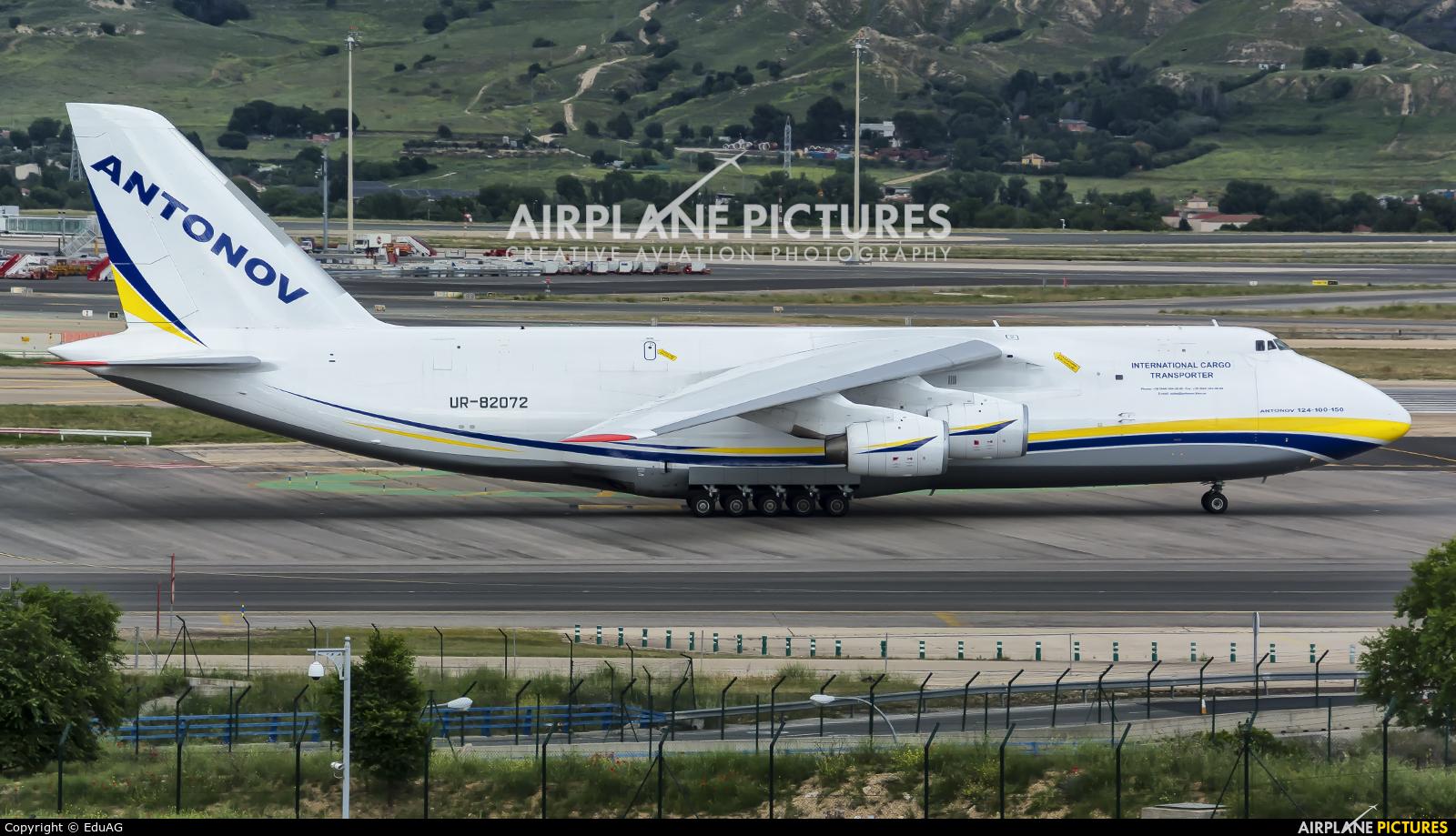 Antonov Airlines /  Design Bureau UR-82072 aircraft at Madrid - Barajas