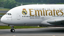 A6-EUG - Emirates Airlines Airbus A380 aircraft