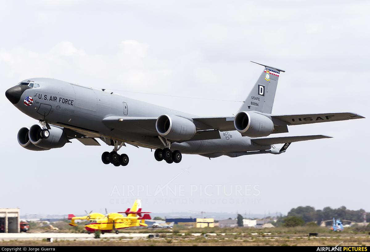 USA - Air Force 58-0094 aircraft at Murcia - San Javier