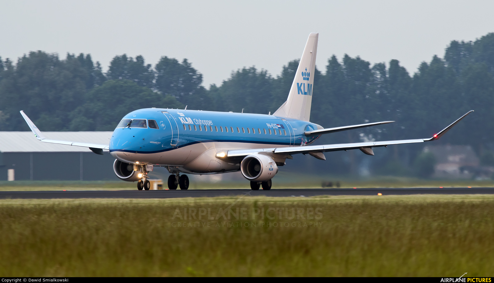 KLM PH-EXZ aircraft at Amsterdam - Schiphol