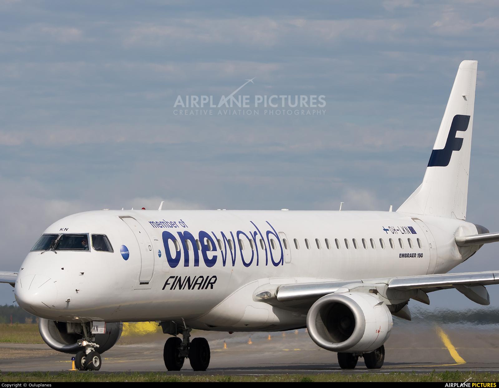 Finnair OH-LKN aircraft at Oulu