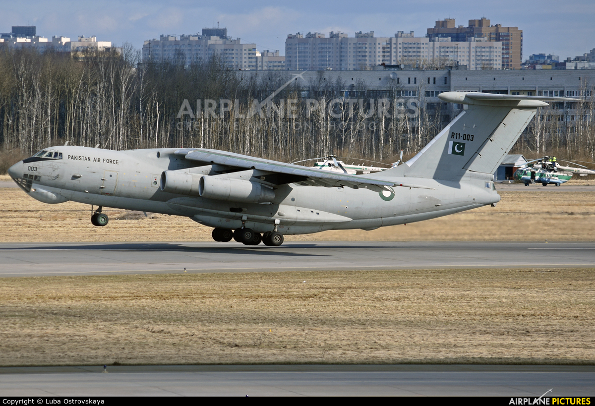 Pakistan - Air Force R11-003 aircraft at St. Petersburg - Pulkovo