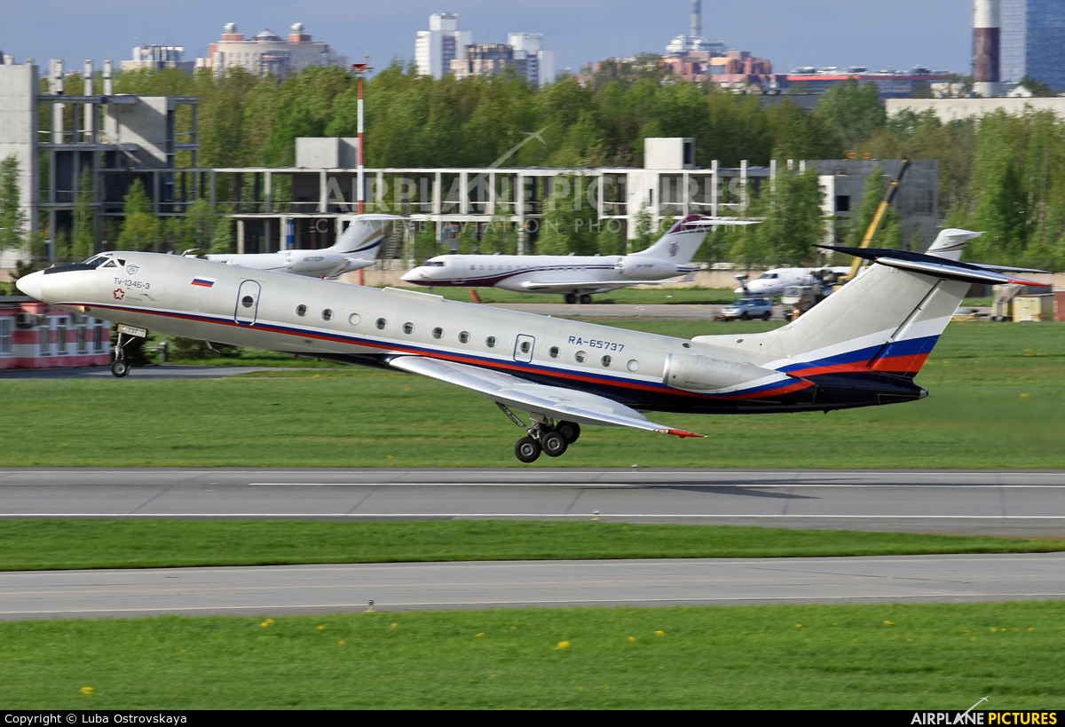 Meridian Air - aircraft at St. Petersburg - Pulkovo