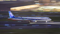 JA111A - ANA - All Nippon Airways Airbus A321 aircraft