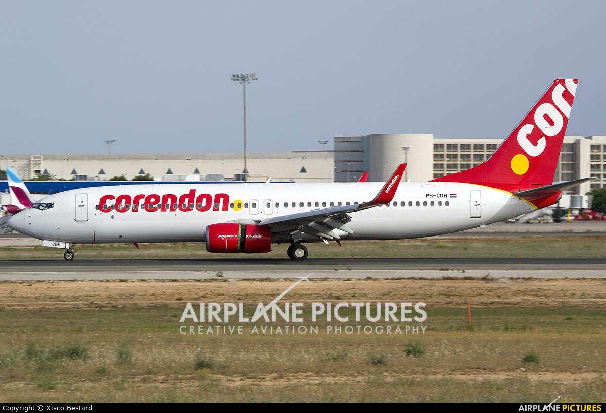 Corendon Dutch Airlines PH-CDH aircraft at Palma de Mallorca