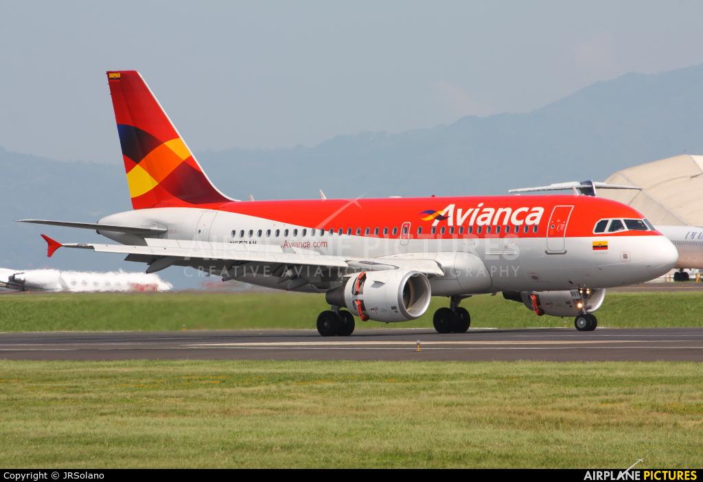 Avianca N557AV aircraft at San Jose - Juan Santamaría Intl
