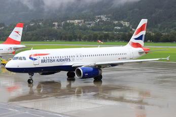 G-EUUV - British Airways Airbus A320
