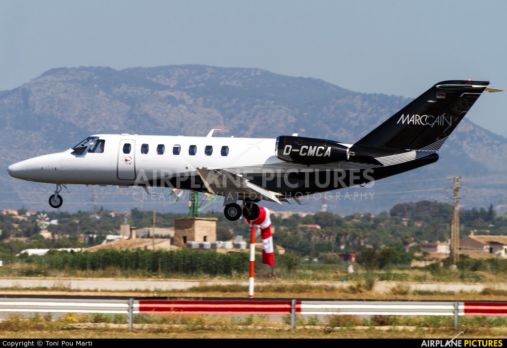 Private D-CMCA aircraft at Palma de Mallorca