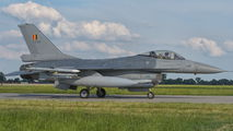 FA-69 - Belgium - Air Force General Dynamics F-16A Fighting Falcon aircraft