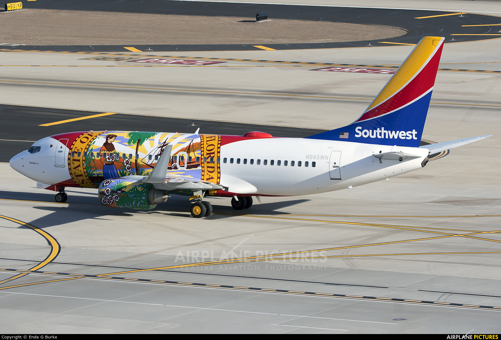 Southwest Airlines N945WN aircraft at Phoenix - Sky Harbor Intl