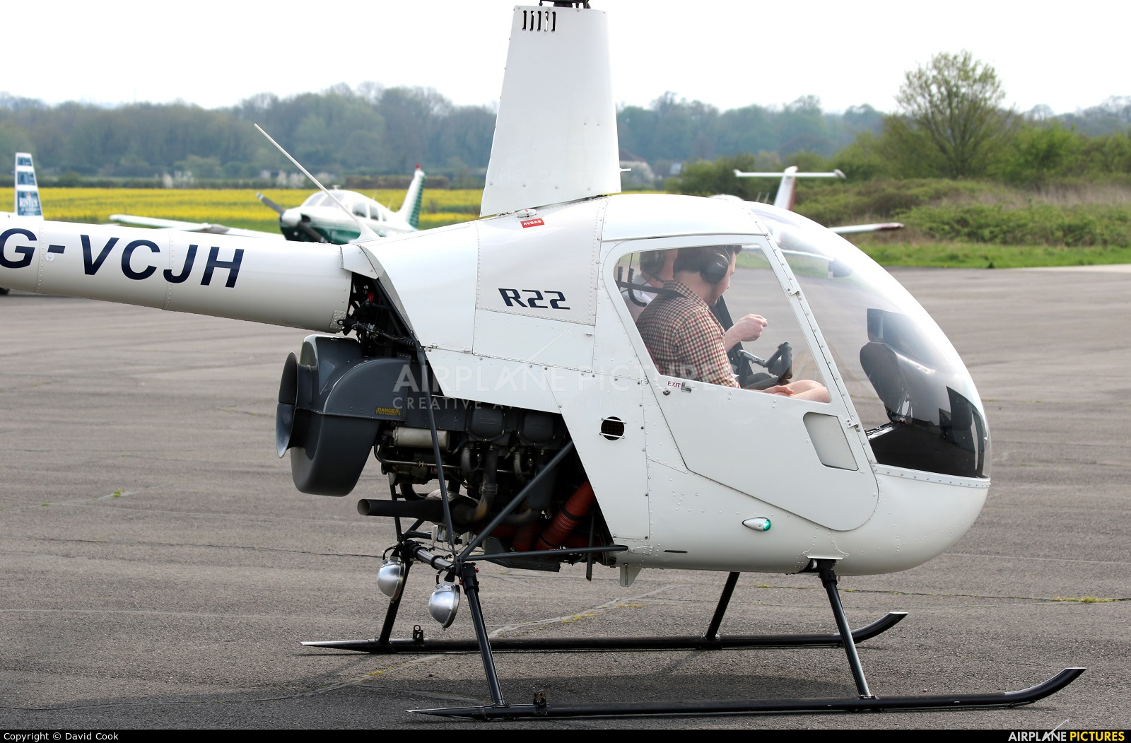 Private G-VCJH aircraft at Tollerton
