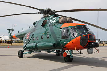 102 - Latvia - Air Force Mil Mi-17