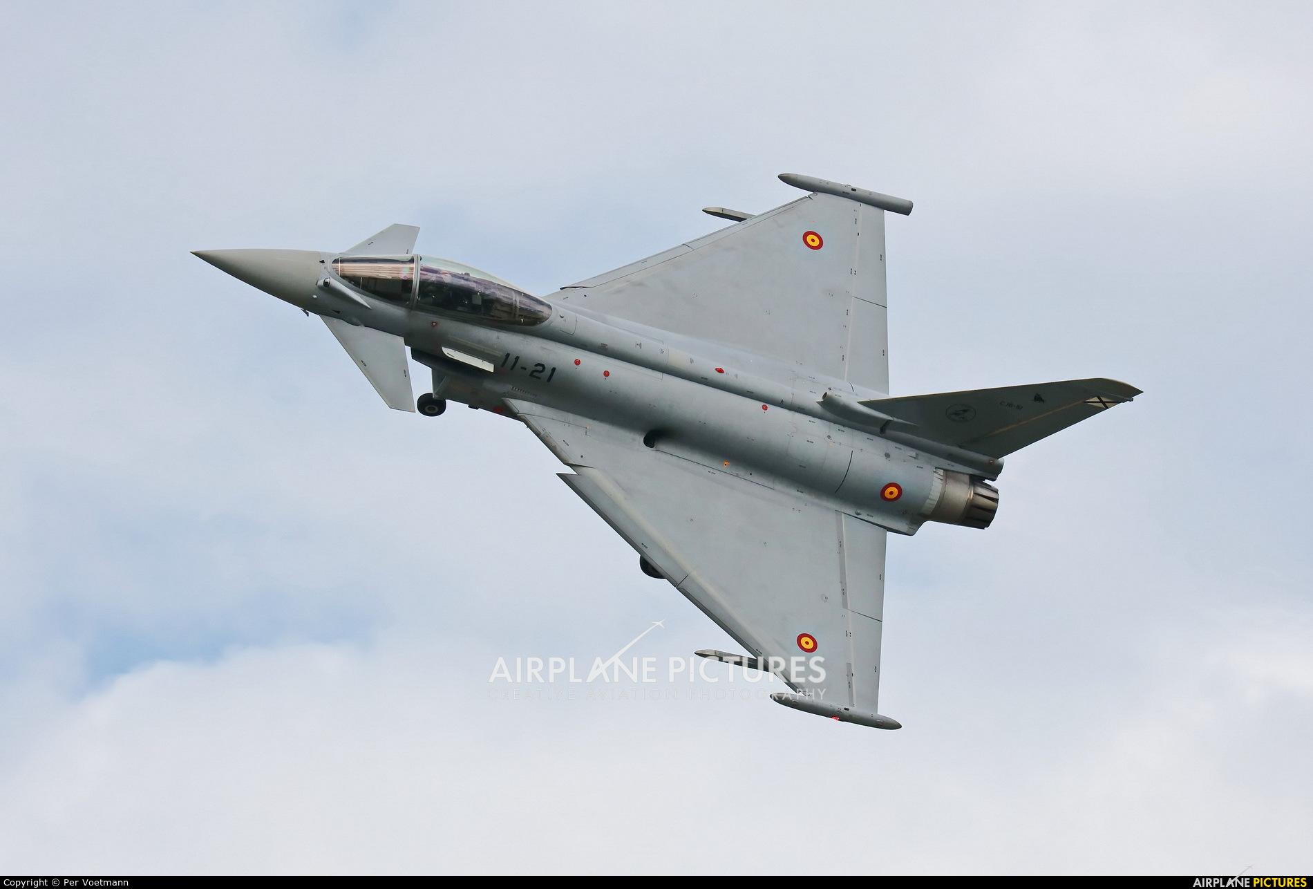 C 16-51 - Spain - Air Force Eurofighter Typhoon S at Aalborg
