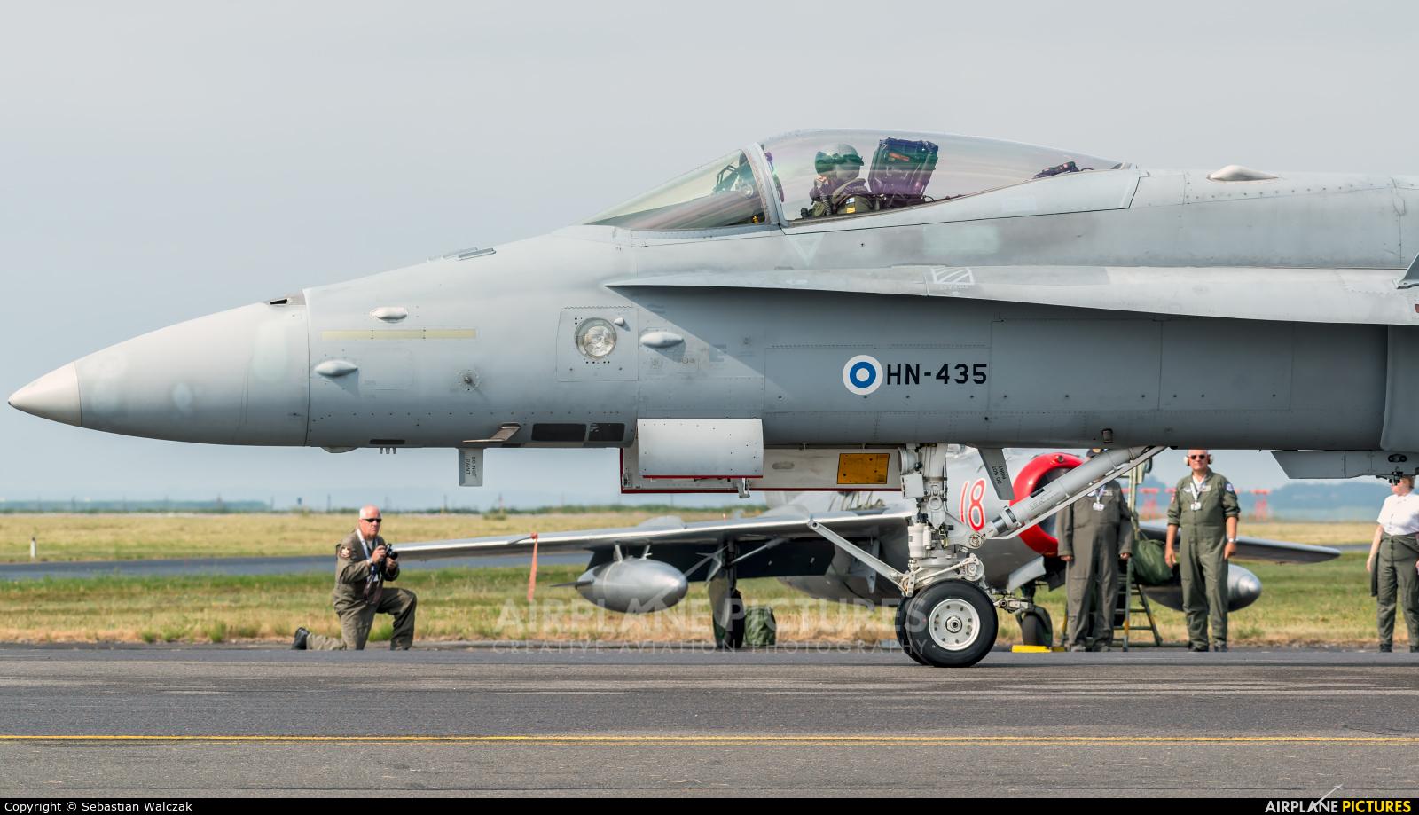 Finland - Air Force HN-435 aircraft at Aalborg