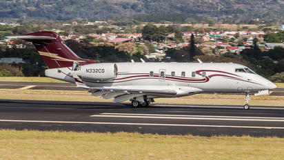 N332CG - Private Bombardier BD-100 Challenger 300 series