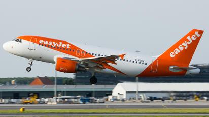 G-EZEY - easyJet Airbus A319