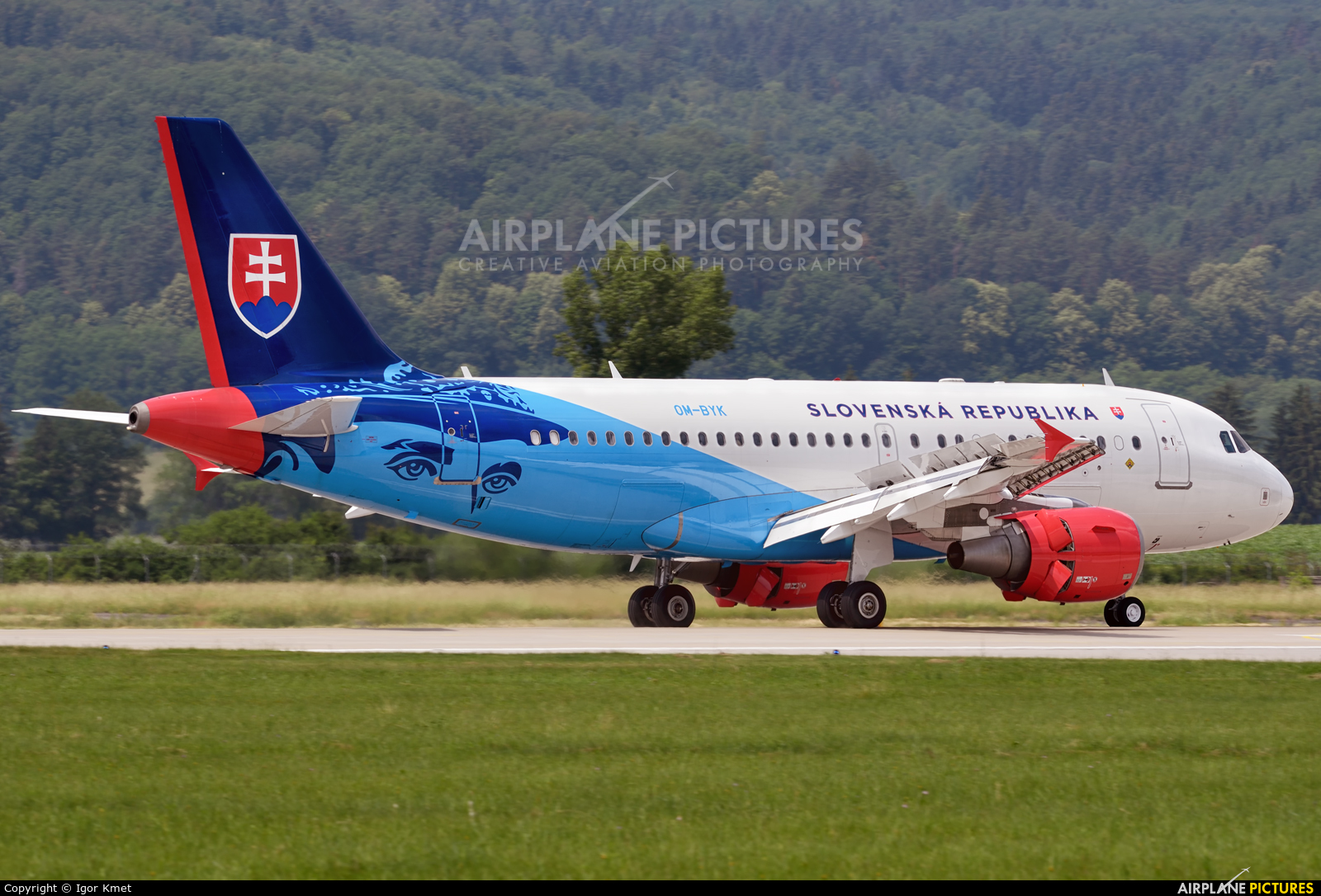 Slovakia - Government OM-BYK aircraft at Sliač