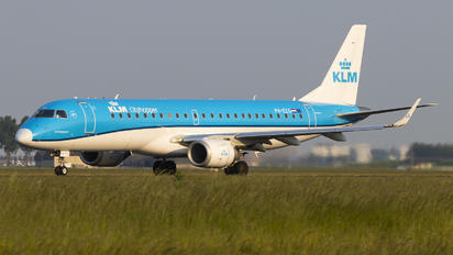 PH-EZG - KLM Cityhopper Embraer ERJ-190 (190-100)