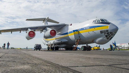 UR-76413 - Ukraine - Air Force Ilyushin Il-76 (all models)