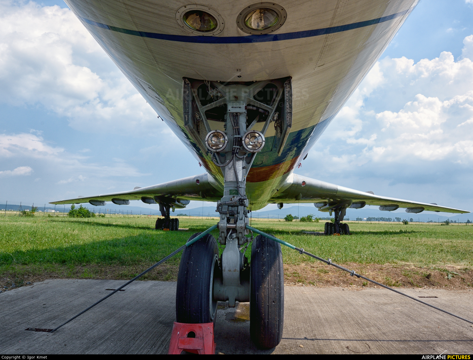 Slovakia - Government OM-BYO aircraft at