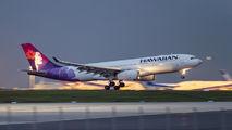 N388HA - Hawaiian Airlines Airbus A330-200 aircraft