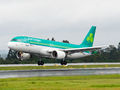 Aer Lingus Airbus A320 EI-DEL at Santiago de Compostela airport
