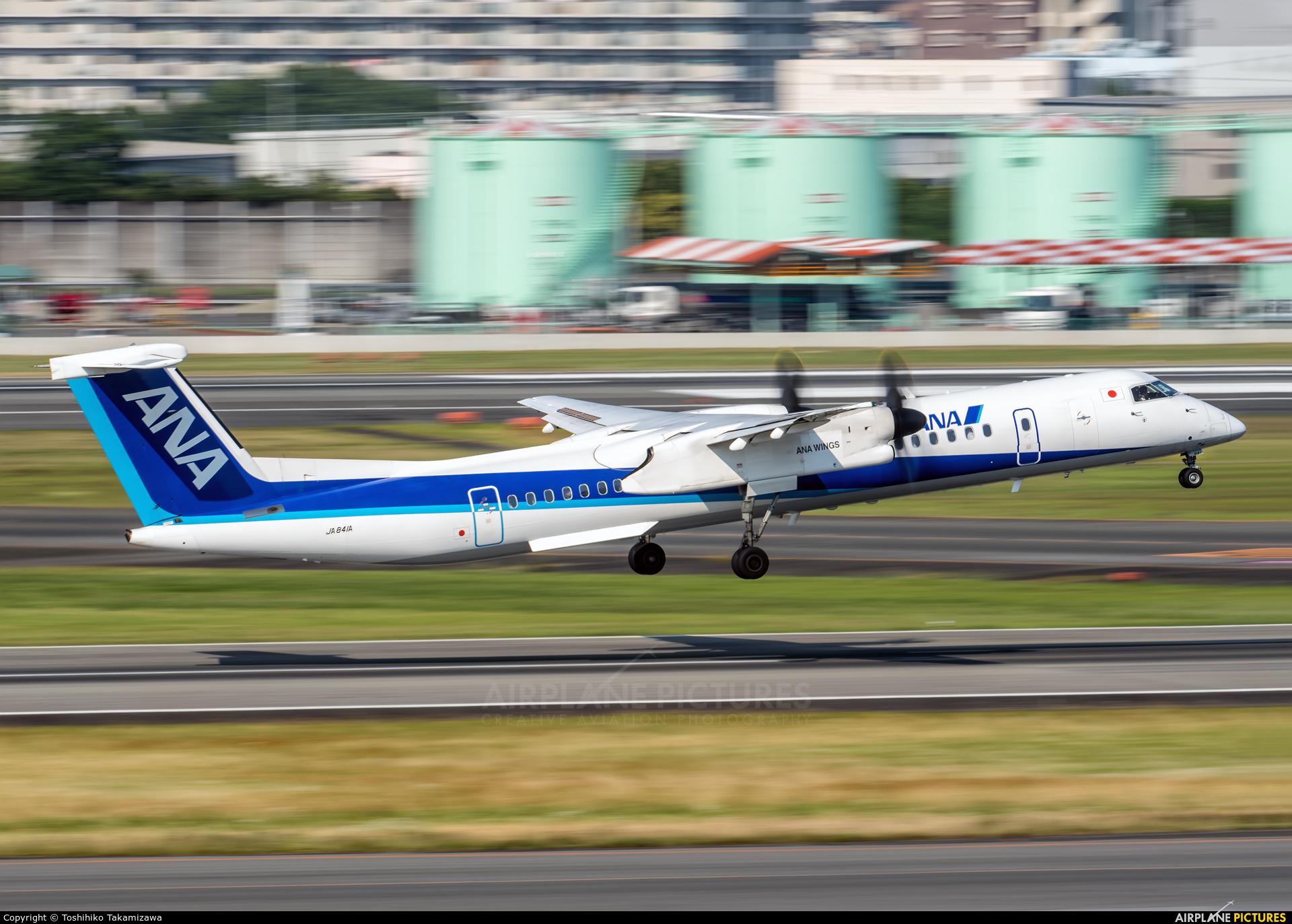 ANA Wings JA841A aircraft at Osaka - Itami Intl