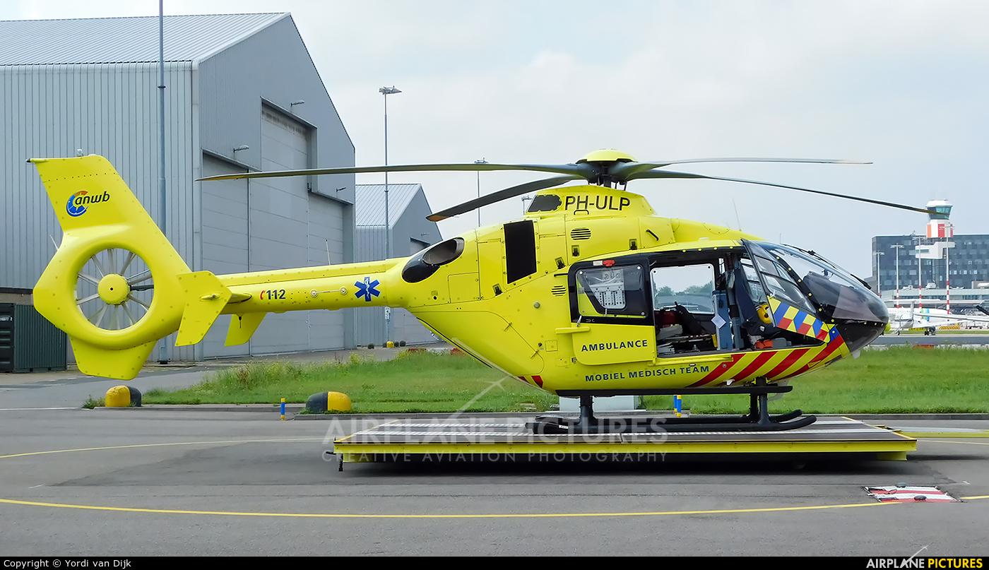 ANWB Medical Air Assistance PH-ULP aircraft at Rotterdam