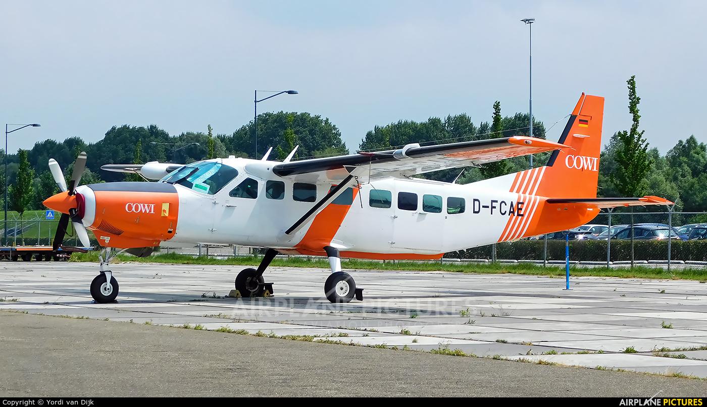 CAE Aviation D-FCAE aircraft at Rotterdam