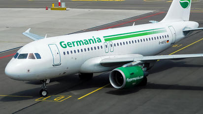 D-ASTZ - Germania Airbus A319