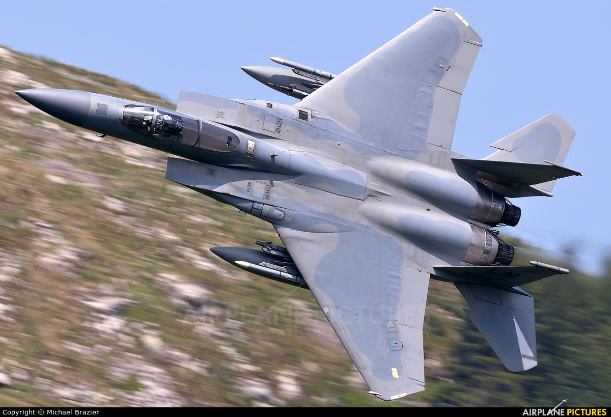 USA - Air Force 86-0174 aircraft at Machynlleth Loop - LFA 7