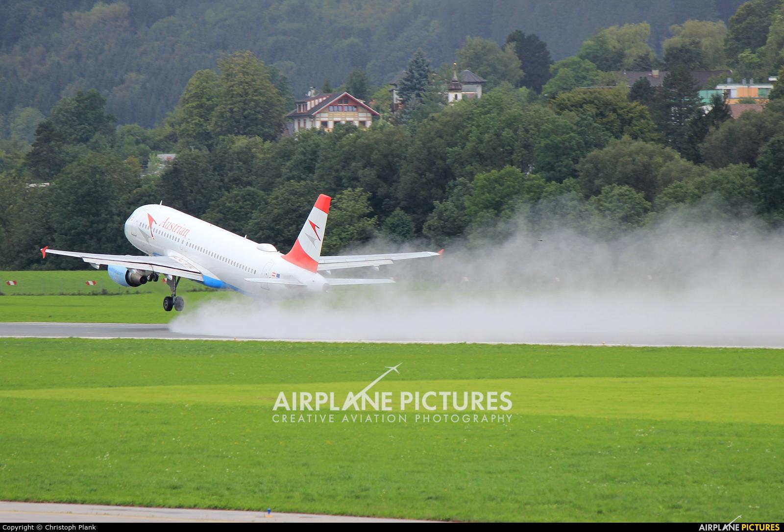 Austrian Airlines/Arrows/Tyrolean OE-LBQ aircraft at Innsbruck