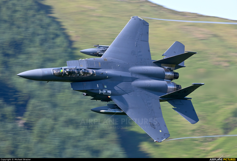 USA - Air Force 91-0605 aircraft at Machynlleth Loop - LFA 7