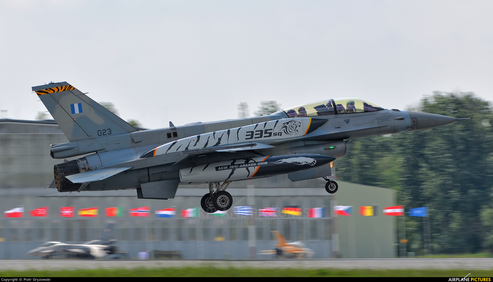 Greece - Hellenic Air Force 023 aircraft at Poznań - Krzesiny