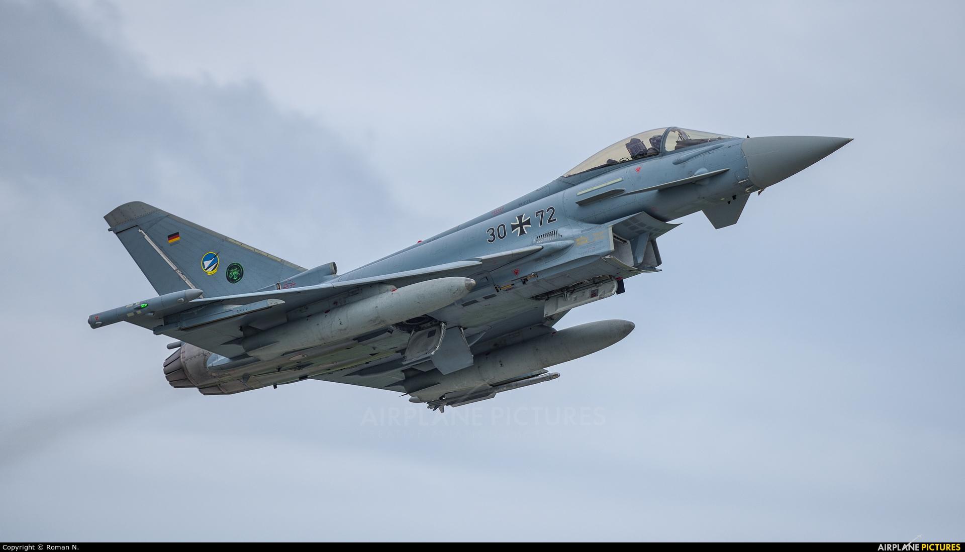 Germany - Air Force 30+72 aircraft at Poznań - Krzesiny