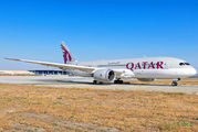 First flight of Qatar Airways from Doha to Malaga title=