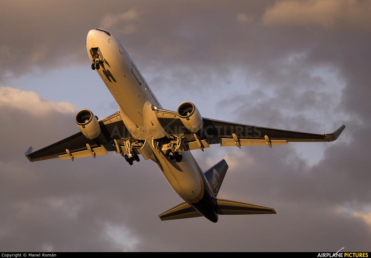 UPS - United Parcel Service N340UP aircraft at Valencia