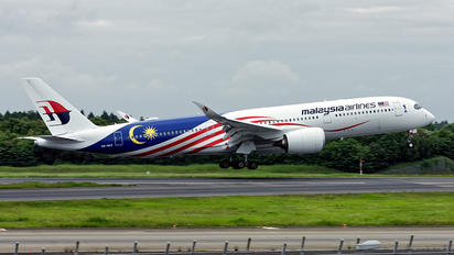 9M-MAF - Malaysia Airlines Airbus A350-900