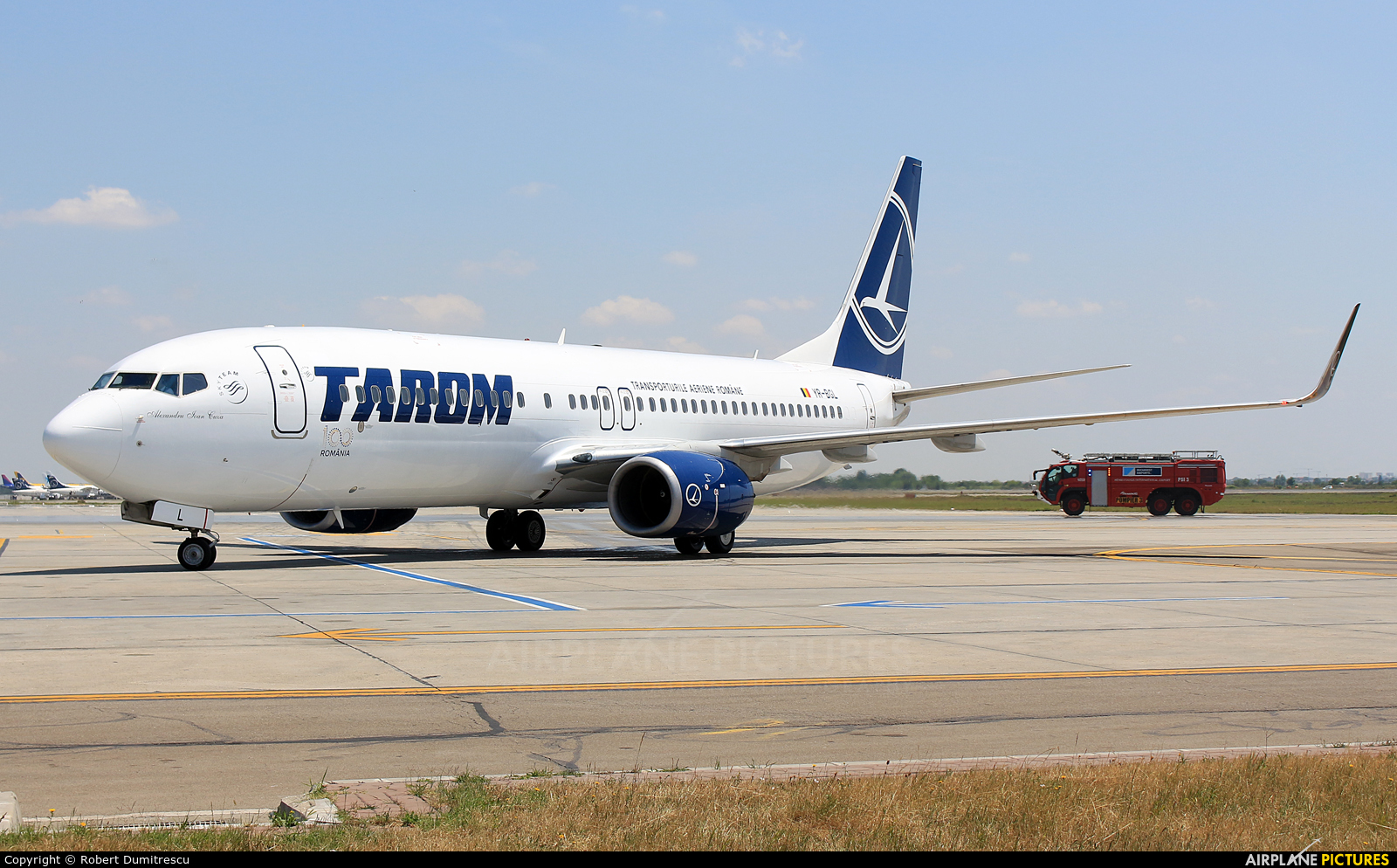 Tarom YR-BGL aircraft at Bucharest - Henri Coandă