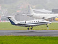 Private Cessna 650 Citation III OY-JPJ at La Coruña airport