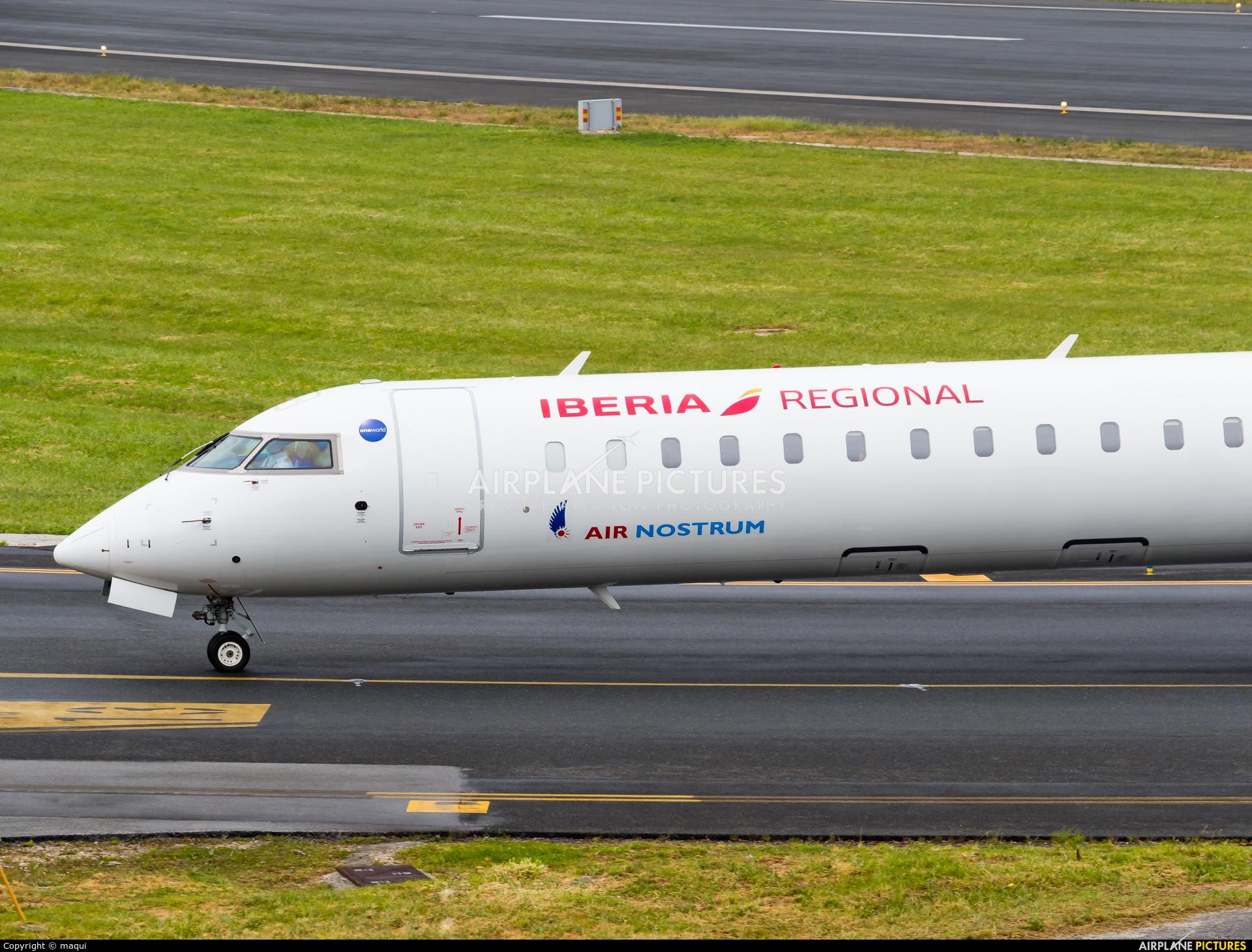 Air Nostrum - Iberia Regional EC-LOX aircraft at La Coruña