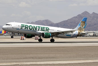 N706FR - Frontier Airlines Airbus A321