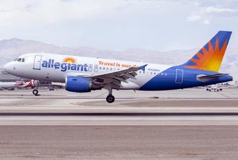 N328NV - Allegiant Air Airbus A319