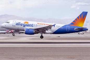 N328NV - Allegiant Air Airbus A319