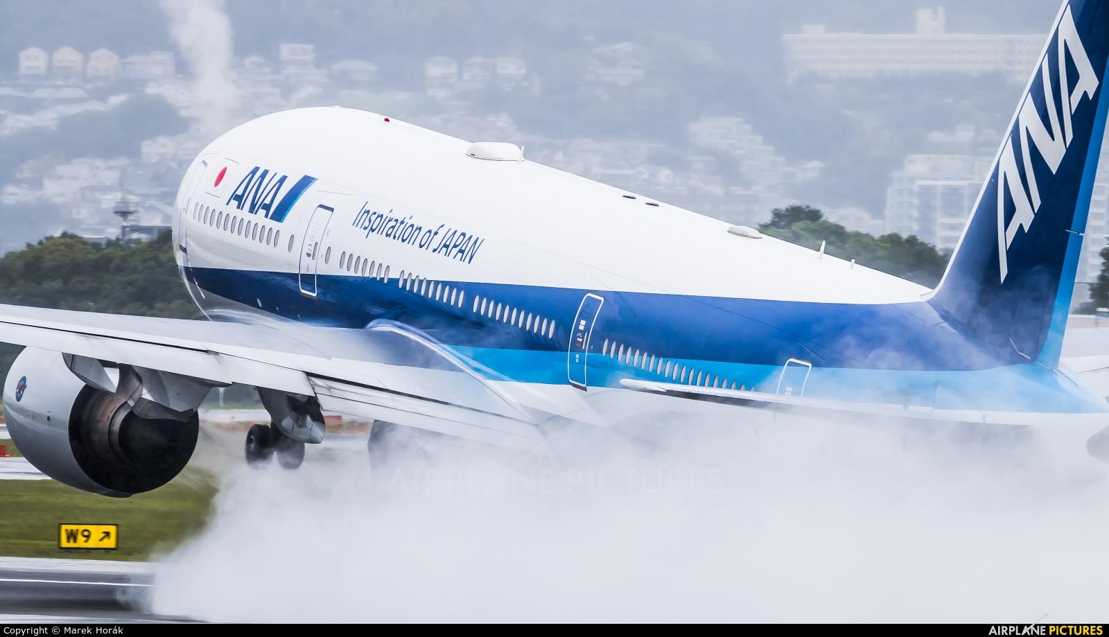 ANA - All Nippon Airways JA715A aircraft at Osaka - Itami Intl