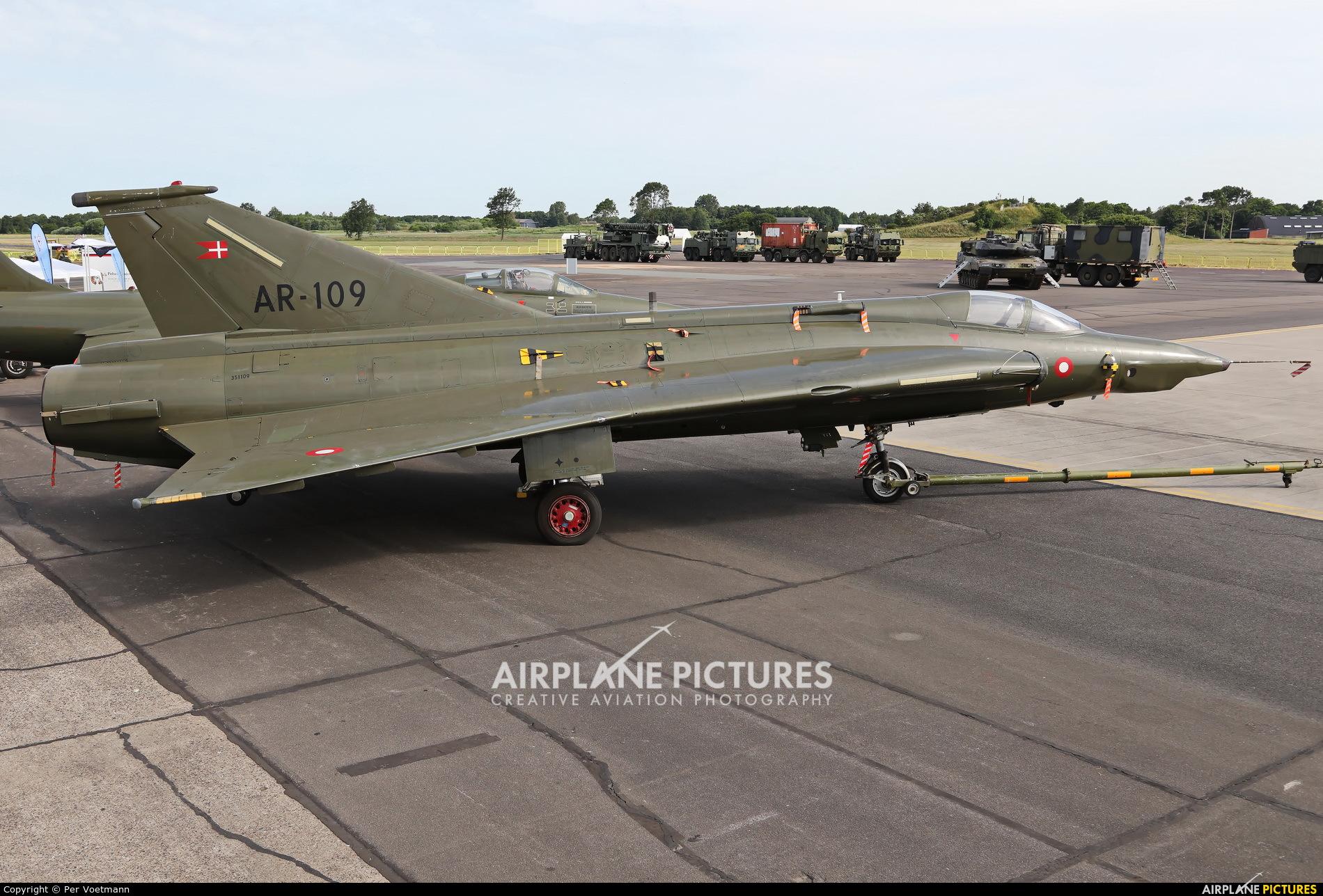 Denmark - Air Force AR-109 aircraft at Aalborg