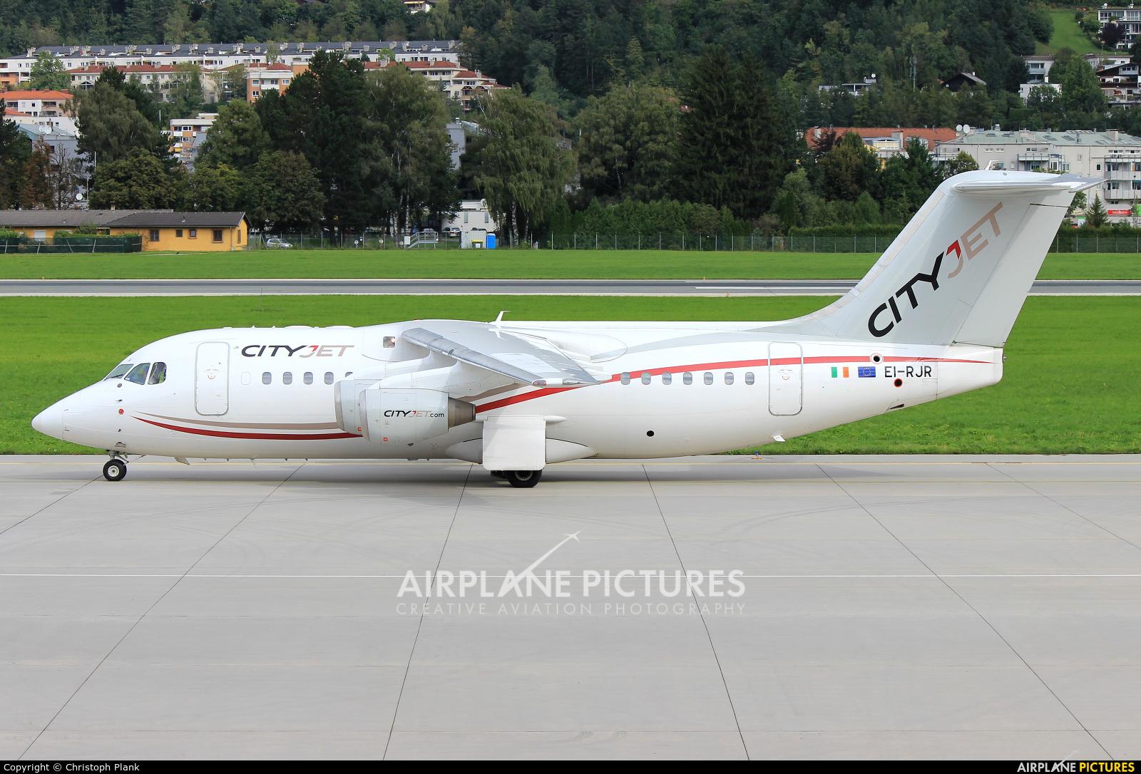 CityJet EI-RJR aircraft at Innsbruck